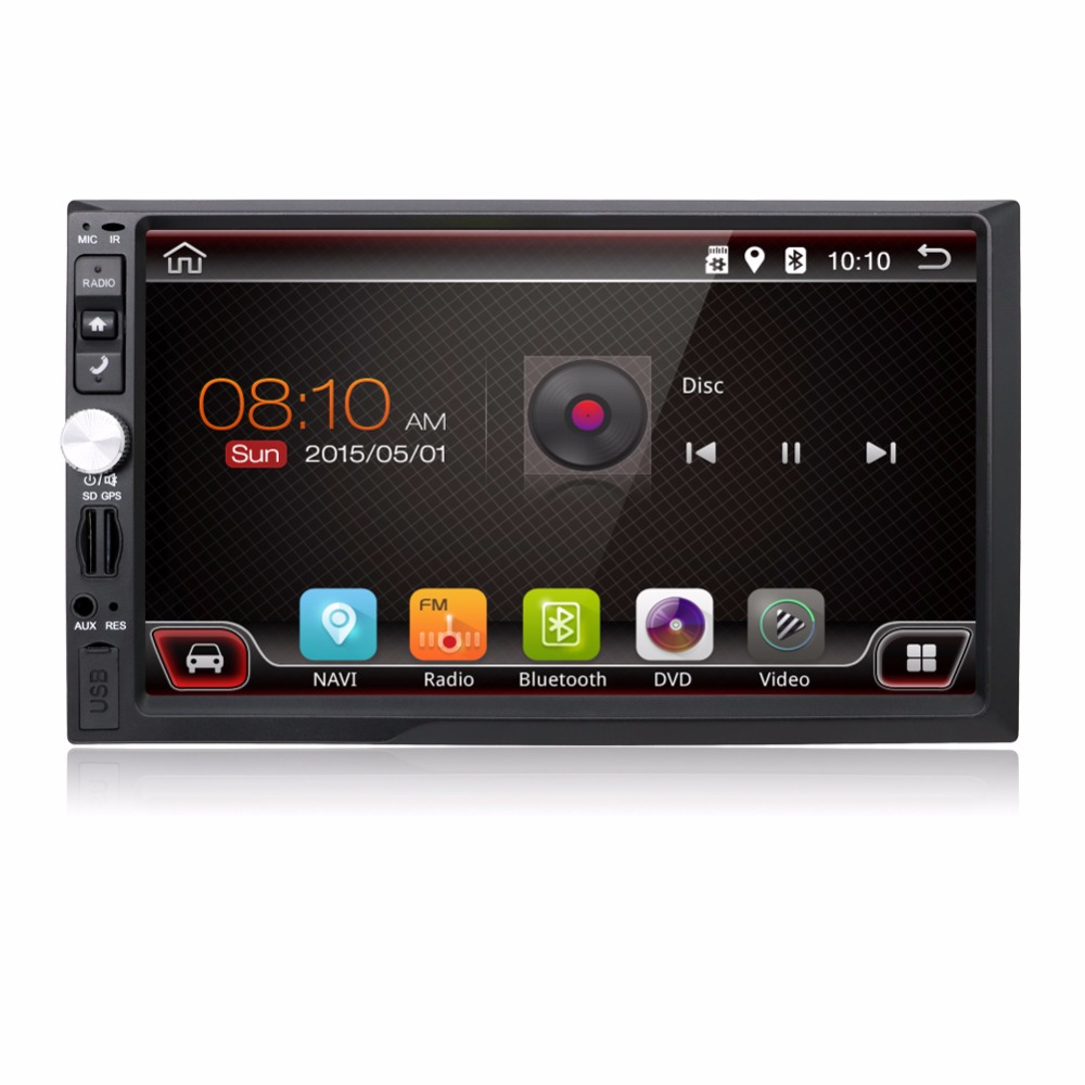 KLYDE 7 2 Din Universal NO DVD Android 8.1 8 core Android 7.1 quad core GPS BT ATV RDS AUX IN Car Radio