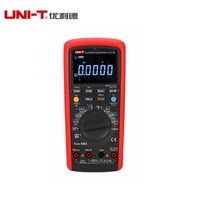 UNI T UT171B 59999 графы Цифровой мультиметр Eletronic AC/DC True RMS Авто/ручной диапазон допуска (nS) c/F термометр VFC