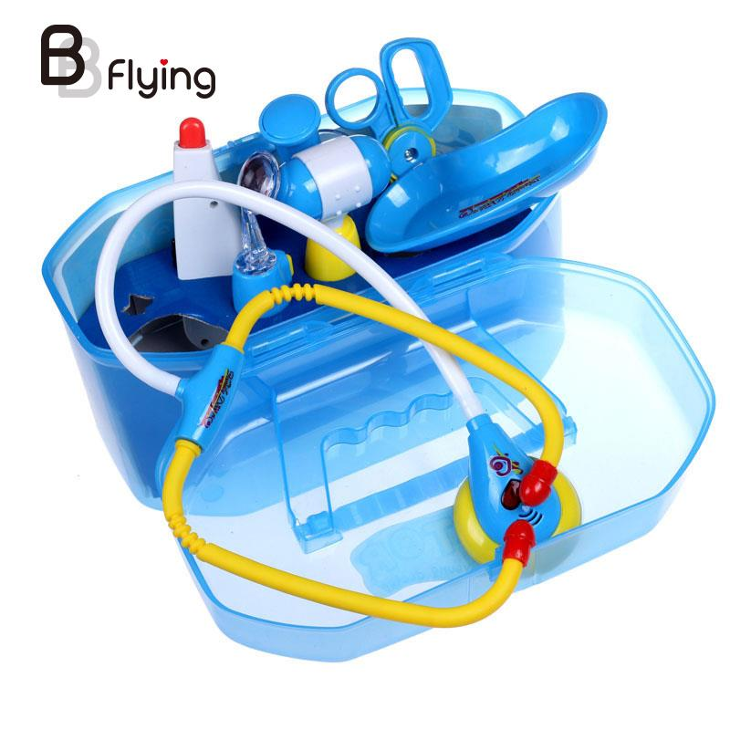 Kids Doctor Toys Pretend Doctor Nurse Medical Play Set Learning Role Playing Kit