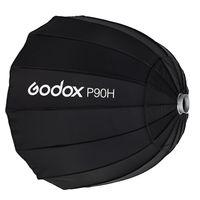 Godox P90H 90 см параболический софтбокс отражатели для вспышки Speedlite Bowens крепление