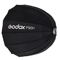 Godox P90H 90 см параболический софтбокс Отражатель для вспышки Speedlite Bowens Mount