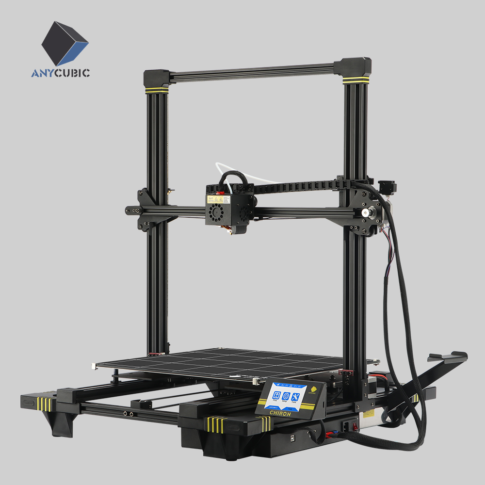 ANYCUBIC 3d Printer Chiron Largest TFT Screen Ultrabase Extruder Dual Z Axisolor Updated PLA Filament 3d