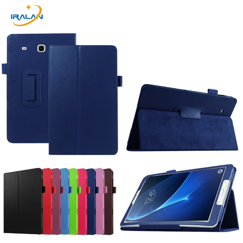 Flip Protective Fashion Solid Leather Case for Samsung Tab A 7 0 T280 T281 T285 Ultra