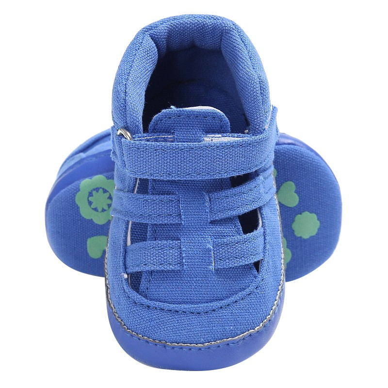 Summer Newborn Canvas Soft Bottom Anti-Slip Shoes Baby Boys Shoes Kids First Walkers