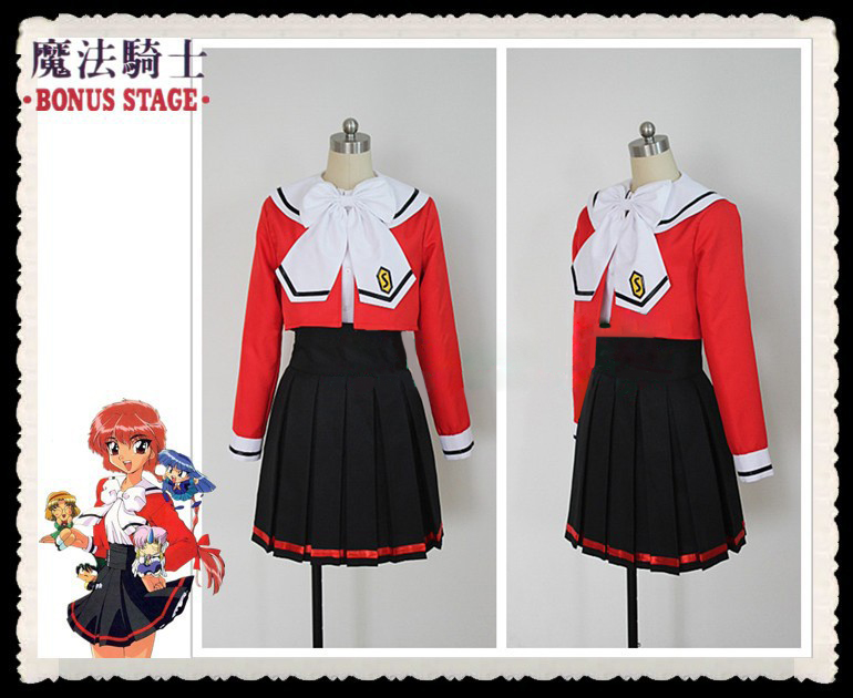 Здесь продается  Magic Knight Rayearth Hikaru Shidou uniform Cosplay Costume wholesale retail  Одежда и аксессуары