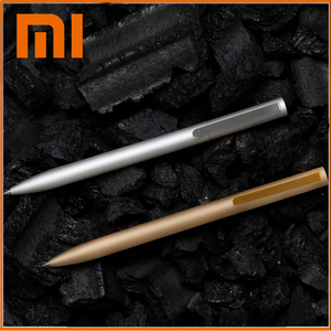 Original Xiaomi Metal Sign Pens School stationery Ballpoint pen PREMEC 0.5mm Switzerland Japan Black Refill Signing Pens