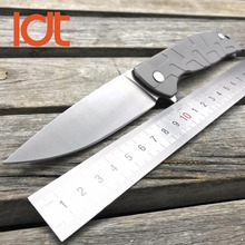 LDT C187 Tactical Folding Blade Knife Rubicon 9Cr18Mov G10 Handle Ball Bearing Flipper Camping Survival Knives EDC Outdoor Tools