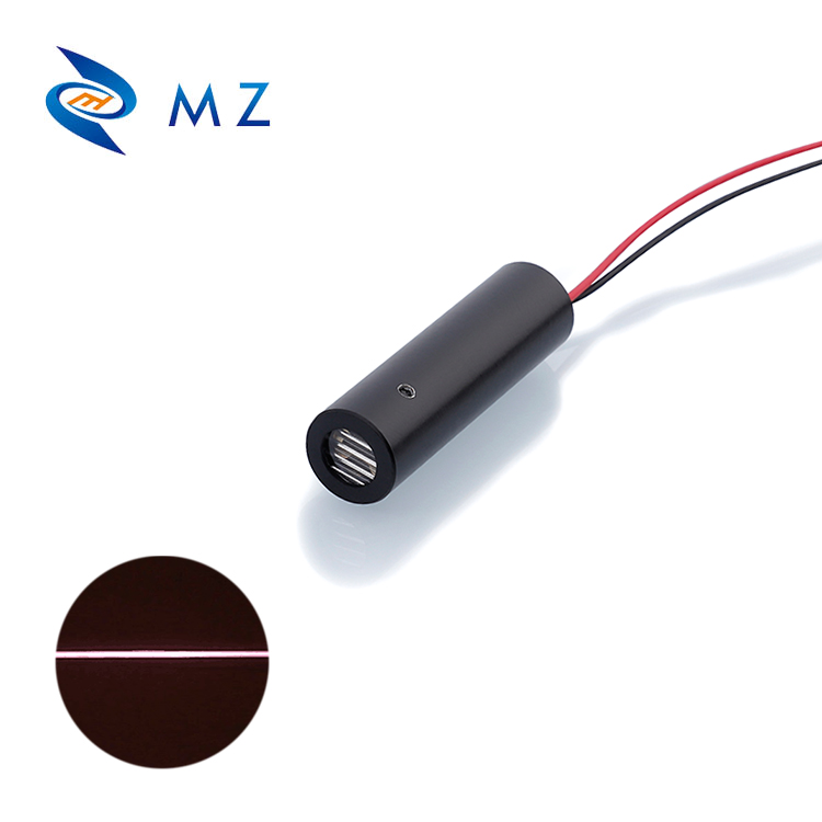 Hot Selling IR Line Laser Diode Module D10mm 808nm 100mW 60 Degree APC Driver For Robot Scanning