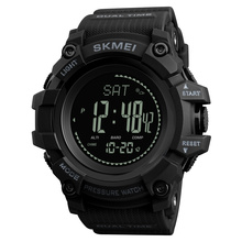 SKMEI Brand Mens Sports Watches Hours Pedometer Calories Digital Watch Altimeter Barometer Compass Thermometer Weather Men Watch cheap Plastic CN(Origin) 26cm 3Bar Buckle ROUND 22mm 17mm Resin Water Resistant Multiple Time Zone Complete Calendar Back Light