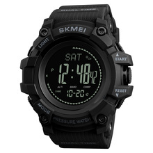 SKMEI Brand Mens Sports Watches Hours Pedometer Calories Digital Watch Altimeter Barometer Compass Thermometer Weather Men Watch