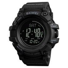 SKMEI العلامة التجارية رجالي الساعات الرياضية ساعة عداد الخطى السعرات الحرارية ساعة رقمية مقياس الارتفاع مقياس الارتفاع البوصلة ميزان الحرارة الطقس الرجال ساعة