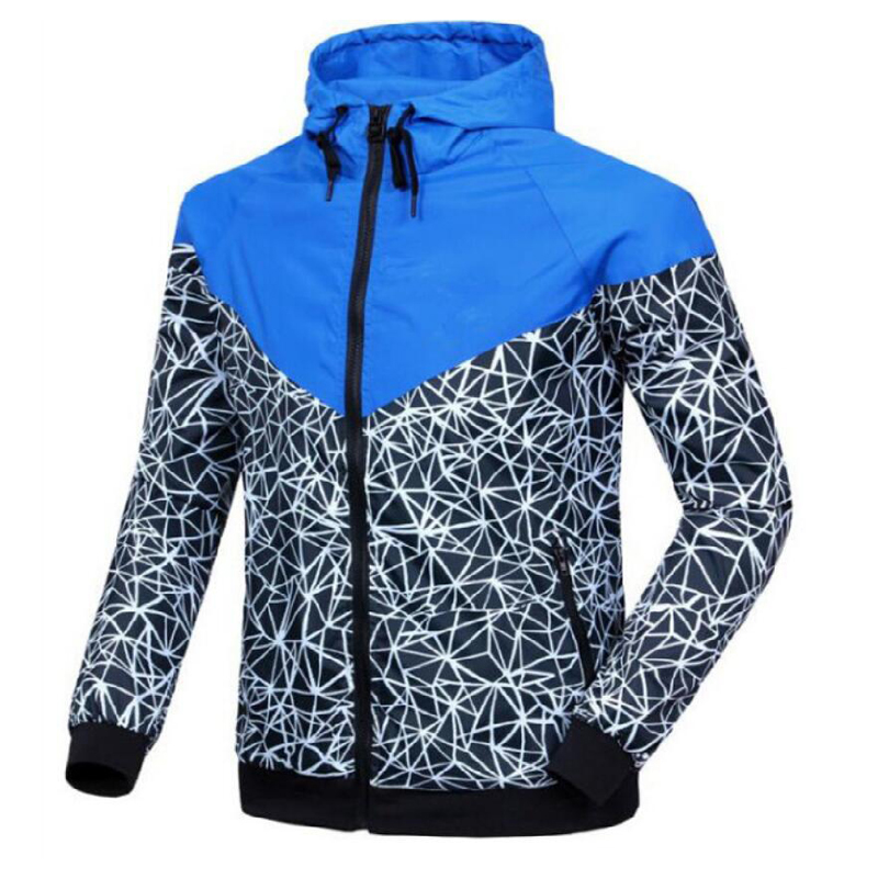 New Arrival Spring Mens Jackets Fashion Coats Male Casual Slim hat Bomber Jacket Men Out ...