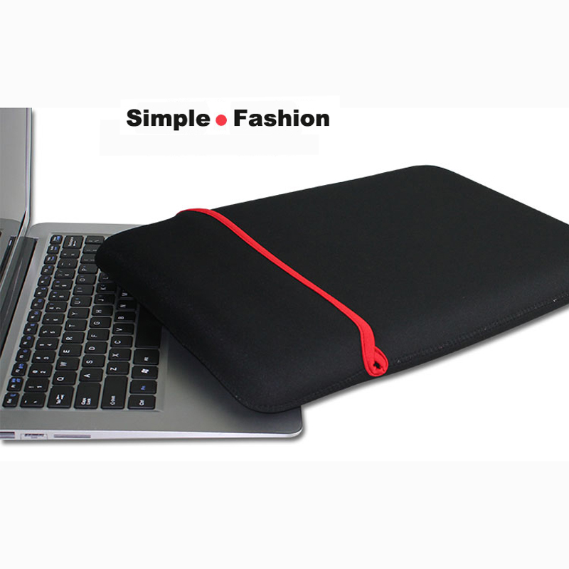 Free Shipping Waterproof Notebook Sleeve Laptop Bag Protective Case full sleeve for 7 8 9 10 11 12 13 14 15