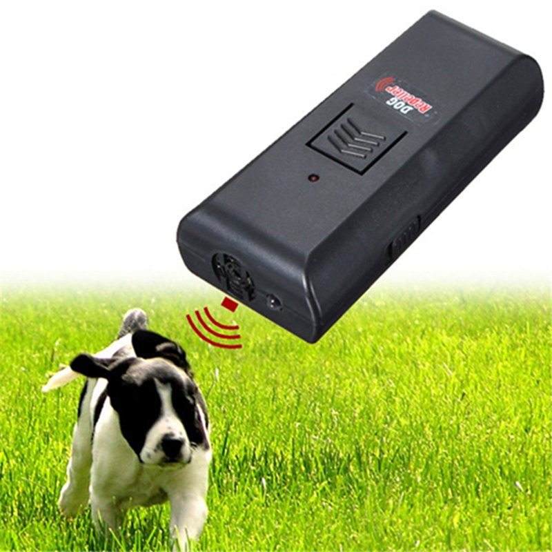 bark control electronic dog repeller ultrasonic Black Aggressive anti Dog Pet banish Repeller Train Stop Barking Training ...