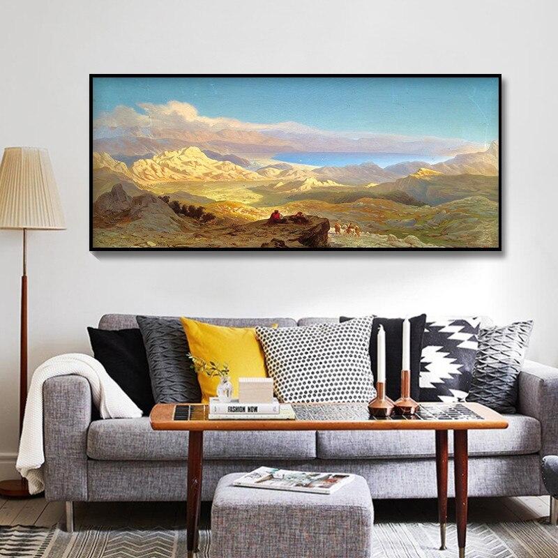 diy 2017 kerajinan berlian bordir lukisan pemandangan gunung besar cina dinding untuk dekorasi