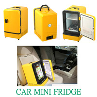 Auto Refrigerator Car Fridge Mini Portable Double Use 12V 7L Multi Function Warmer Travel Home Camping Cooler