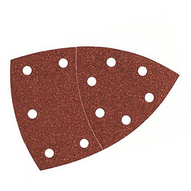 10PCS Sanding Sheet Sandpapers For Bosch PSM 100A Detail Palm Sander 80Grit Sand Sanding Paper Accessories