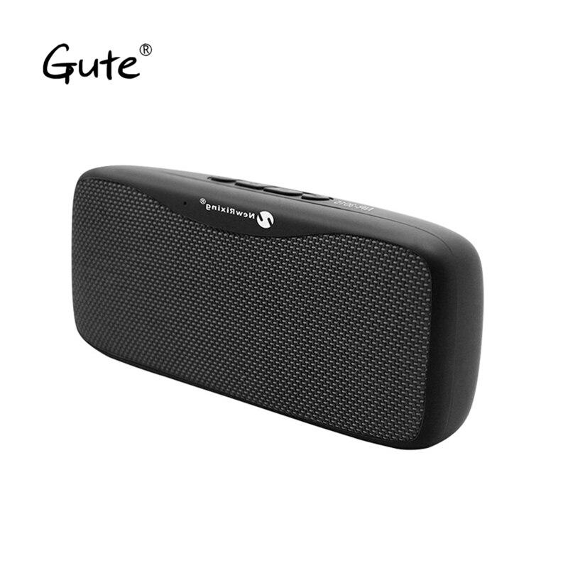 Gute SSS815 Monica Fabric art square Bluetooth speaker cloumn cloth woofer FM radio wireless caixa de som alto falante altavoz
