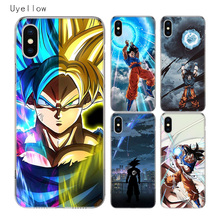 Uyellow Dragon Ball Super Goku Cover For Iphone 5 6 6S 7 8 Plus Trend Silicone Soft Phone Case For Apple X XR XS MAX Coque Capa цена и фото