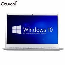Cewaal 2017 New 14″ Ultra-Thin Windows10 Intel ATOM  Quad-core 1360×768 4GB RAM 64GB ROM SSD 10000mAh Notebook Computer