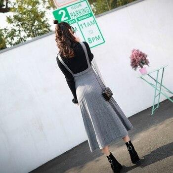 4d9645999b817 Best Savings for Korean Skirts Womens Autumn Maternity Elastic Waist Strap Skirt  Pregnancy Long Skirts Clothes