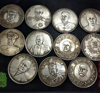 Antique Silver dollar silver coin collection,a set #2, Hand crafts,Collection&Adornment,Free shipping
