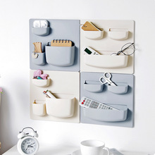 Wall suction tray plastic storage rack cosmetics washing equipment sundry storage rack bathroom storage box цена в Москве и Питере
