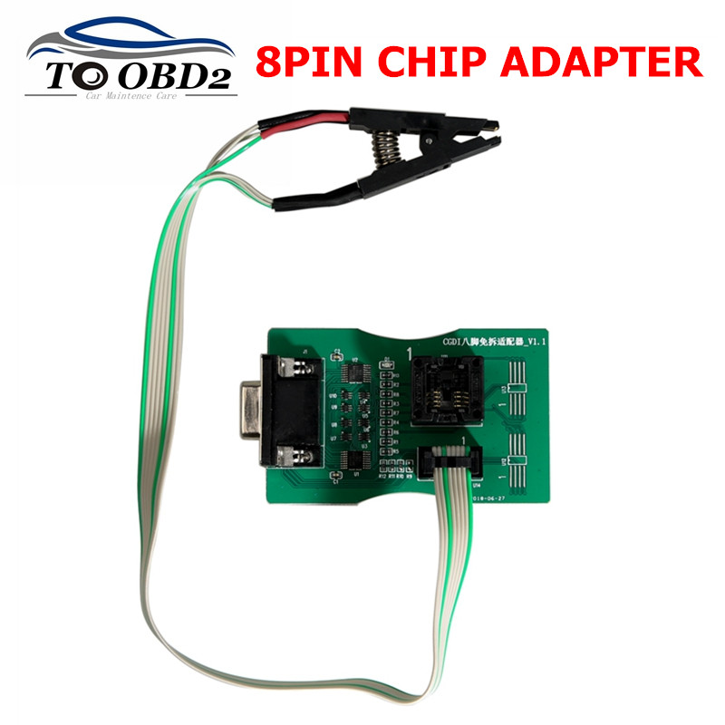 Best quality Reading 8 Foot Chip Free Clip Adapter with XP 5.60 /5.74/<font><b>5.84</b></font> <font><b>XPROG</b></font>-Box ECU Programmer and UPA USB Programmer image