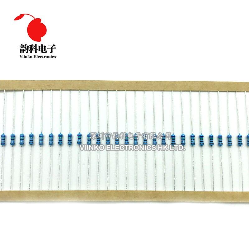 100 pcs 1//4W 0.25W 1/% Metal Film Resistor 33 ohm 33ohm