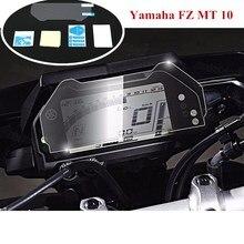 лучшая цена Motorcycle Cluster Scratch Protection Film Screen Protector for Yamaha FZ MT 10 FZ-10 MT-10 FZ10 MT10