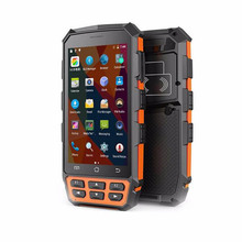 New Android 7.0 OS Rugged Data Terminal 5 Inch Handheld Scanner 1D 2D Barcode Scanner NFC Reader TCS1 Fingerprint Reader QR Scan