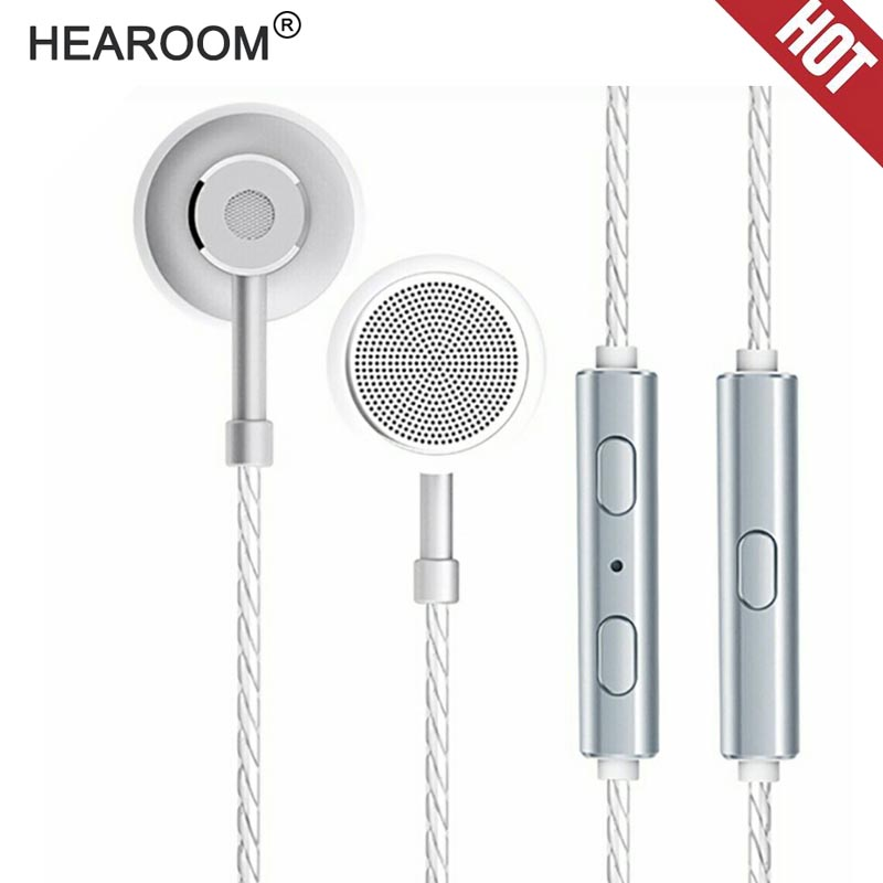 HEADROOM MS16 Custom in ear Earphone with Mic Sports Running Music HIFI Headset Earbud Stereo Bass Headphone for iPhone xiaomi rockspace zircon stereo earphone quality sound earbud for iphone in ear earphones hands free headset with mic right angle plug