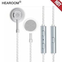 HEADROOM MS16 Custom in ear Earphone with Mic Sports Running Music HIFI Headset Earbud Stereo Bass Headphone for iPhone xiaomi