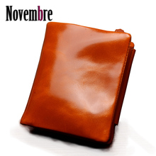 2017 New Fashion Genuine Leather shiny quick girls's purse girls's Wallet wallets girls purses visiting playing cards Bag women classic