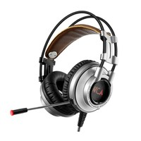 K9 7 1 Vibration USB Gaming Headset Headphones Deep Bass LED Light Headsets With Microphone For