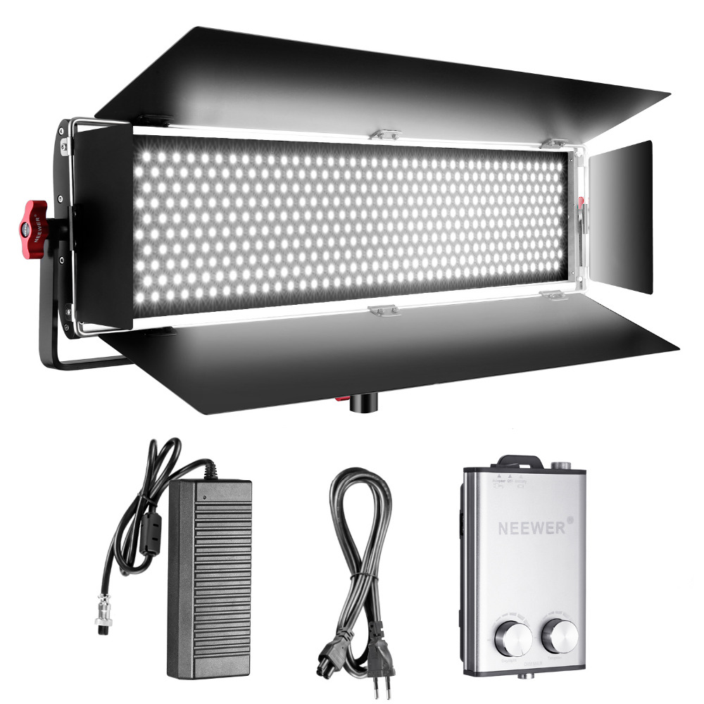 Neewer Dimmable Bi-color SMD LED with U Mounting and Professional Lamp Video Lamp for Studio Youtube Product Photography Video new godox 308c bi color dimmable 5500k 3300k led video led video studio light lamp professional video light with remote control