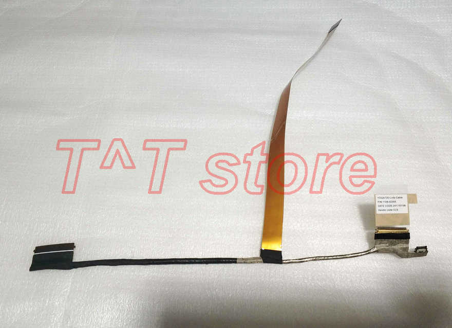original for YOGA 720 LCD LVDS SCREEN CABLE 1109-02305 test good free shipping цена