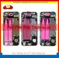 """Substituição Para IPhone 6 4.7 """"Da Bateria Tampa Traseira Completa Habitação Moldura Chassis Assembléia Completa Com Cabos Flex + Adesivo fita"""