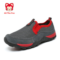 Summer Outdoor Cushioning Light Boys Children Shoes Breathable Mesh Big Kids Shoes Fashion Casual Flats Girls Boy Shoe 28 40