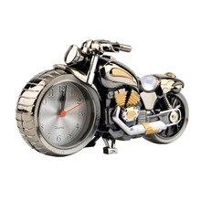Крутые мотоциклетные кварцевые часы-будильник, креативные настольные часы для дома, подарок на день рождения, часы, Прямая поставка