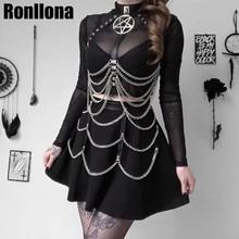 Кожаный ремень для женщин, сексуальное нижнее белье, 2 шт., ремень в стиле панк и готика, бандаж для ног, бюстгальтер Фетиш клетки