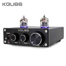 KGUSS T3 MINI Bile 6J1 Preamp Tube Amplifier Buffer HIFI Audio Preamplifier Treble Bass Adjustment Pre amps DC12V