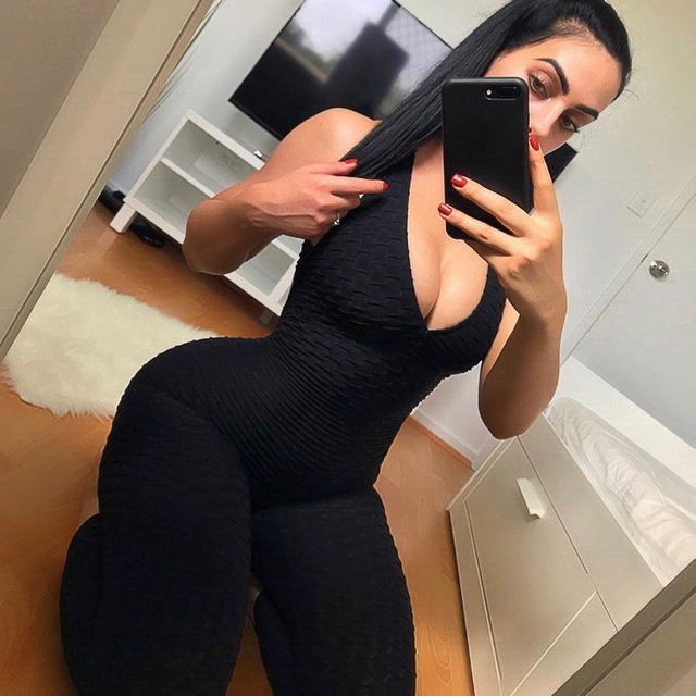 Backless Sportswear Fitness Tight Women's Tracksuits Sport Running Set Yoga Sets Workout Clothes Gym Clothes 3