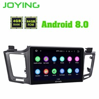 Android 8.0 4GB GPS Navi Car Stereo audio Player In Dash Radio with 10.1IPS screen Multimedia System for Toyota RAV4 2012 2018