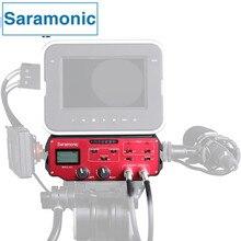 Saramonic BMCC-A01 Câmera Microfone Adaptador de Áudio Mixer profissional para Blackmagic Cinema Camera