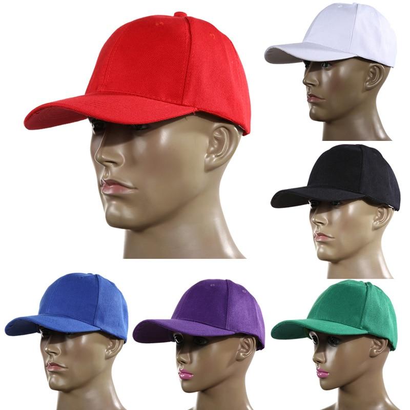 1PCS Adjustable Back Visor Sports Hat Golf Caps Cotton Sports Cap leisure Hats  Baseball Cap Unisex Outdoor Sports Golf Caps 0a530d073