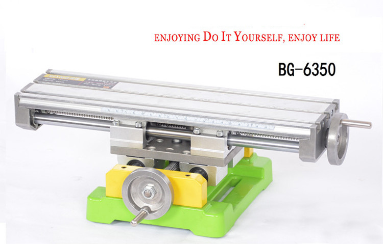 Multi-Functional Milling Machine Cross Working Table Mini Slide Table Support for Drilling Bench Drill Stent Tools BG6350Multi-Functional Milling Machine Cross Working Table Mini Slide Table Support for Drilling Bench Drill Stent Tools BG6350