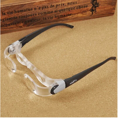 2.1X MaxTV Regulowane Okulary Powiększające Okulary do Oglądania Telewizji Oczu Lupa Lornetki Darmowa Wysyłka