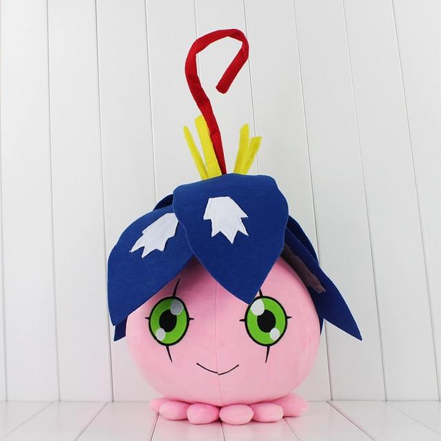 Digimon Pyocomon Plush Toys Japan Anime Kawaii Soft Stuffed Dolls Birthday Gifts For Boys Girls 30-55cm