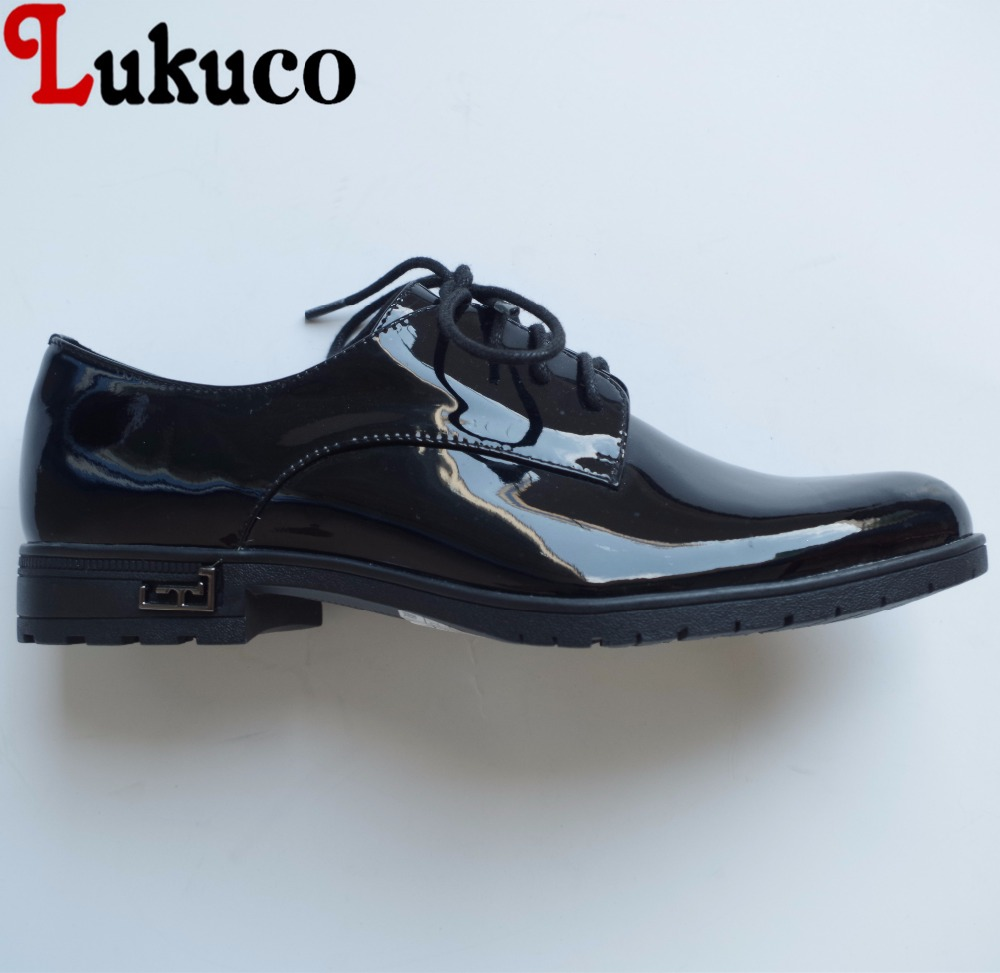 Lukuco pure color concise style round toe women office&career flats microfiber made basic lace-up shoes with pigskin inside lukuco pure color women mid calf boots microfiber made buckle design low hoof heel zip shoes with short plush inside